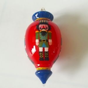 Other - Nutcracker glass ornament